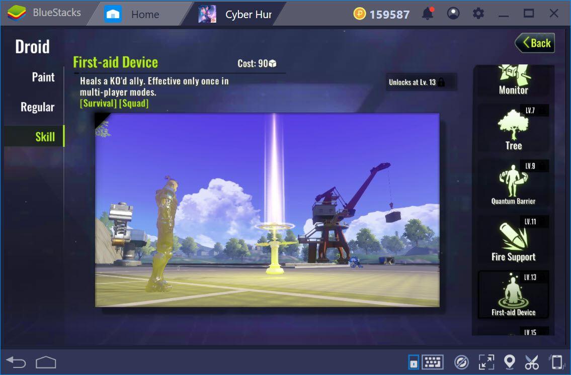 """""""Soi"""" toàn bộ các kỹ năng nhân vật trong Cyber Hunter"""