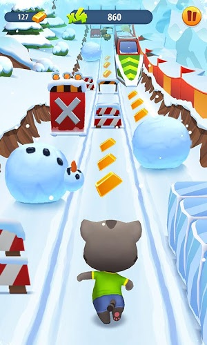 Играй Talking Tom Gold Run На ПК 3