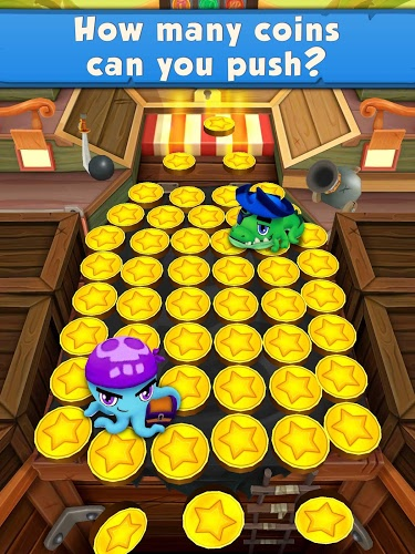 Joue Coin Dozer: Pirates on pc 6
