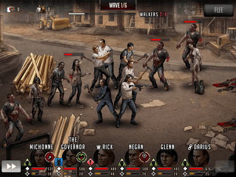 Играй The Walking Dead: Road to Survival on PC 19