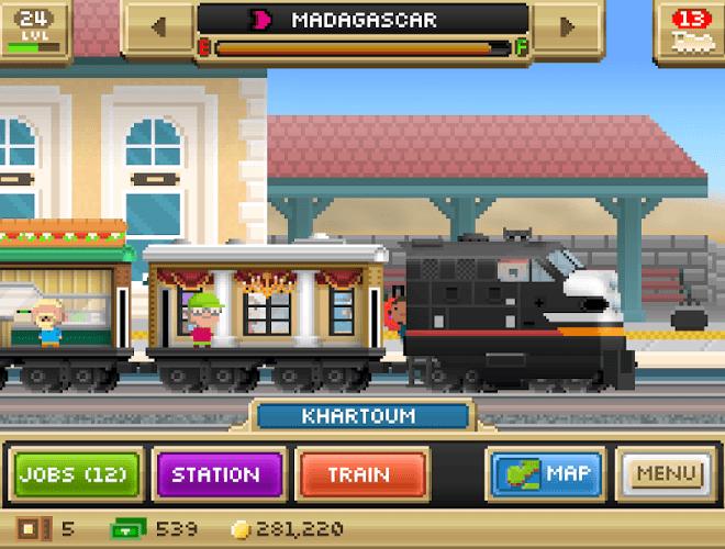 Играй Pocket Trains На ПК 17