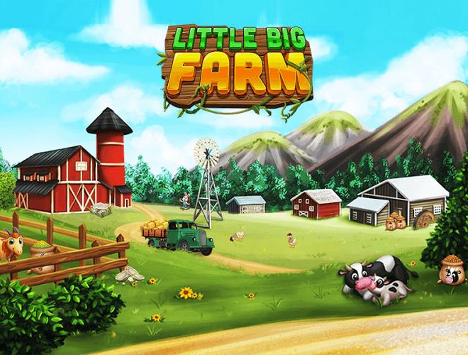 เล่น ฟาร์มขนาดใหญ่เล็ก ๆ น้อย ๆ on PC 20