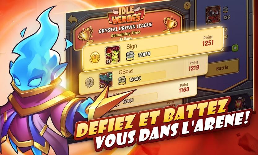 Jouez à  Idle Heroes sur PC 7