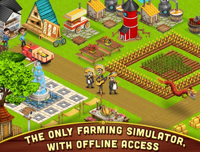 เล่น ฟาร์มขนาดใหญ่เล็ก ๆ น้อย ๆ on PC 21
