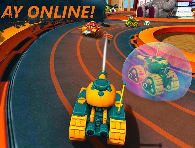 Play War Tank Racing Online 3d on PC 3