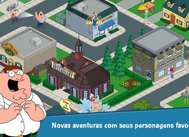 Jogue Family Guy: The Quest for Stuff para PC 4