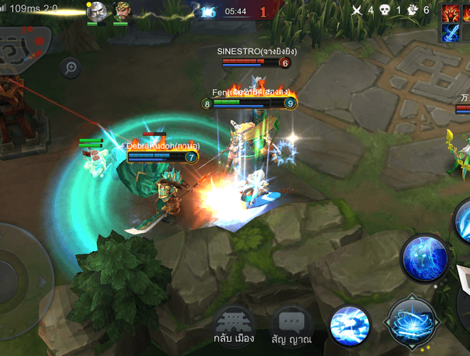 เล่น Heroes Glory: First Blood on PC 6