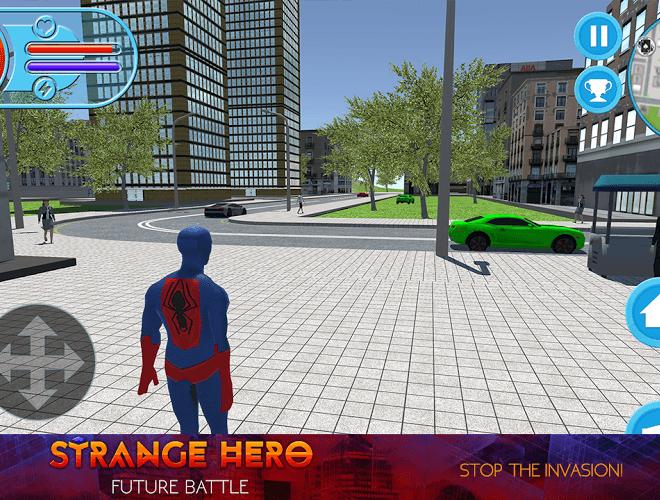 Play Strange Hero: Future Battle on PC 8