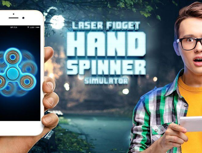 Play Laser fidget hand spinner on pc 2