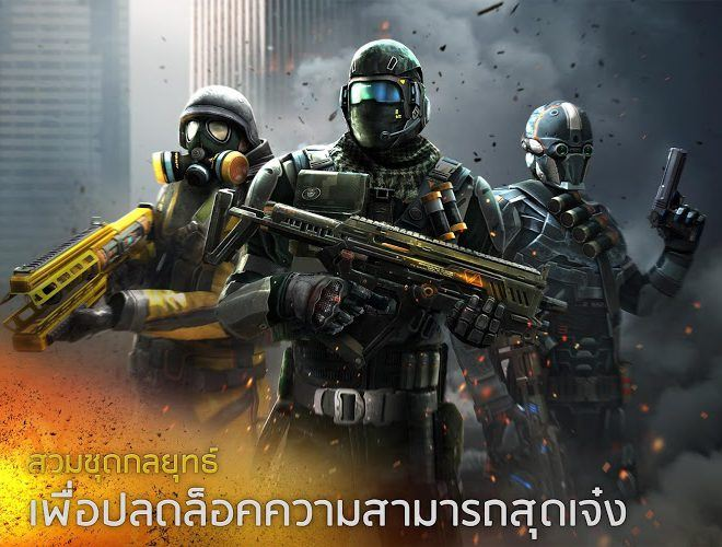 เล่น Modern Combat 5: Blackout on PC 3