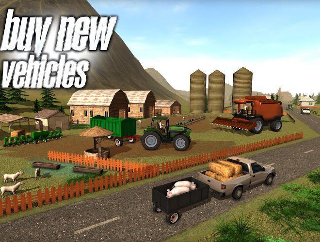 Play Farmer Sim 2015 on PC 5