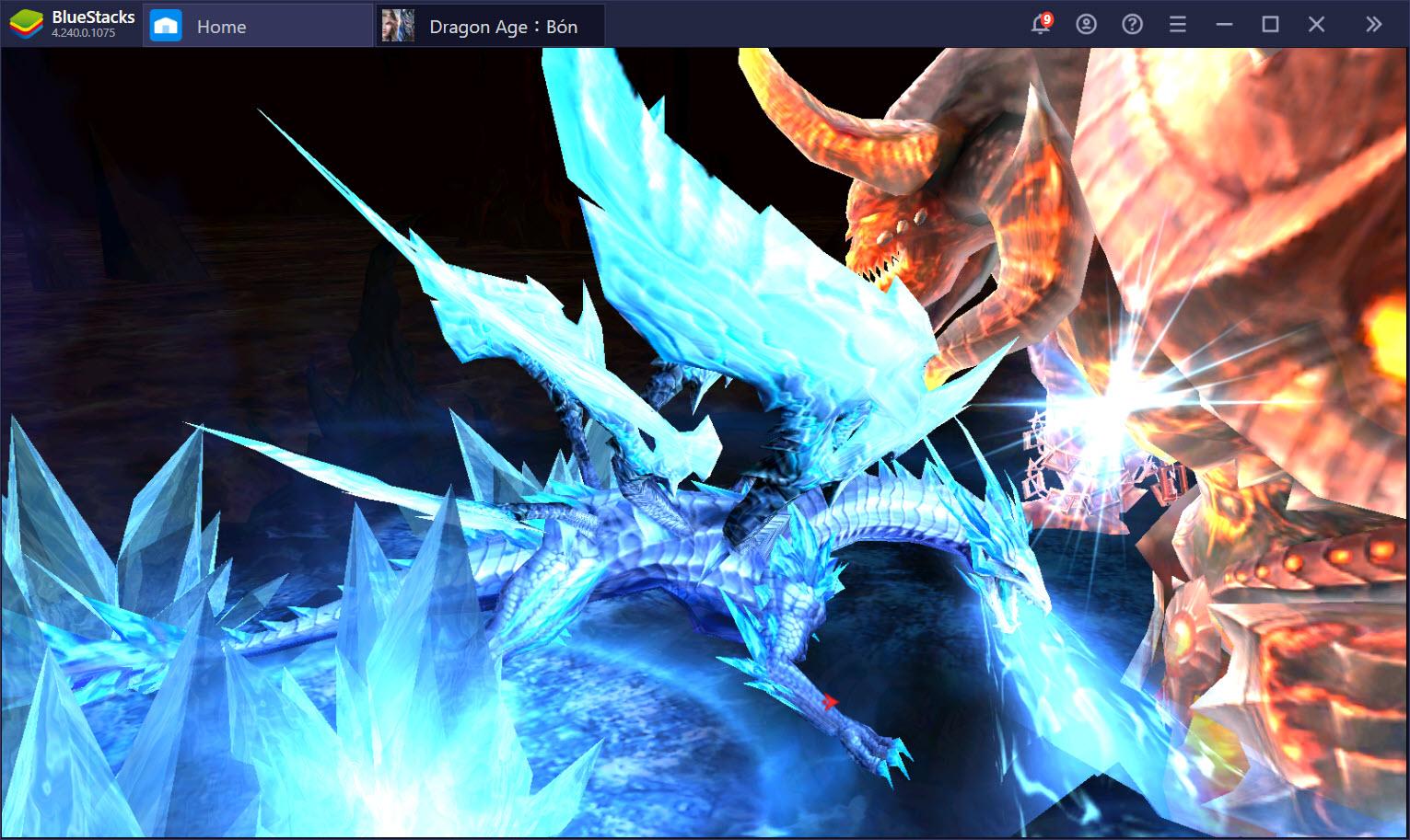 Trải nghiệm Dragon Age: Bóng Đêm Thức Tỉnh trên PC với BlueStacks