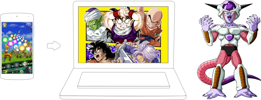 how to play dokkan battle on pc