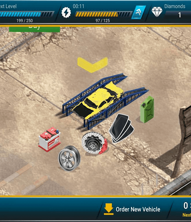 Car Business Simulation Game On