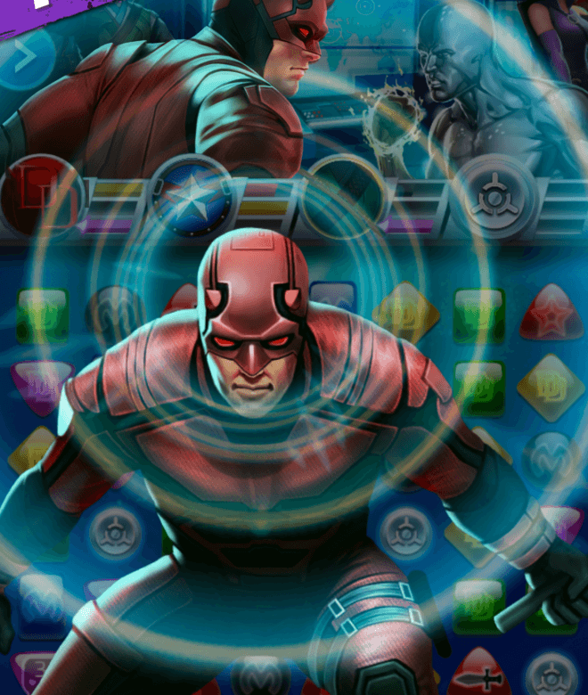Играй Marvel Puzzle Quest На ПК 18