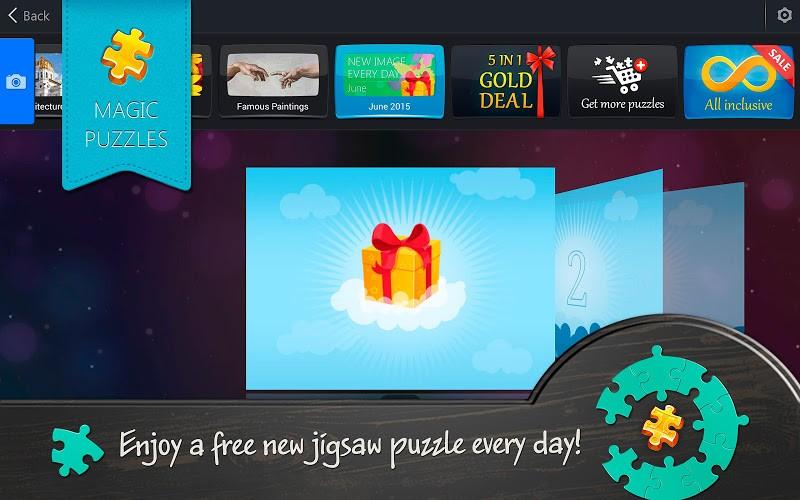 Jigsaw Puzzle Screenshots