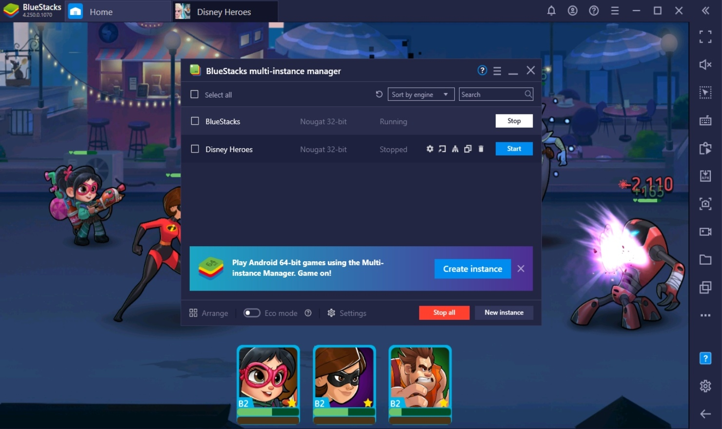 How to Play Disney Heroes: Battle Mode on PC with BlueStacks