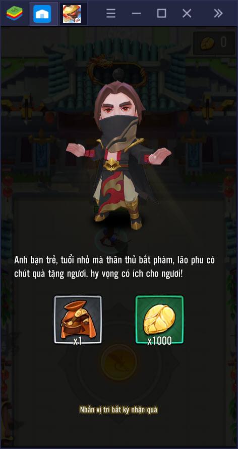 Cùng khám phá Đại Hiệp Piu Piu Piu, game màn hình dọc có lối chơi độc đáo