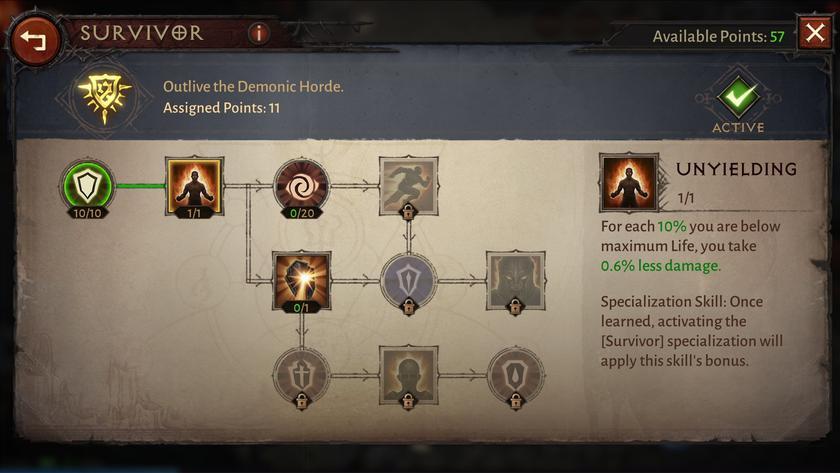"""""""Парагон"""" и """"Древние разломы"""" — больше подробностей об особенностях Diablo Immortal"""
