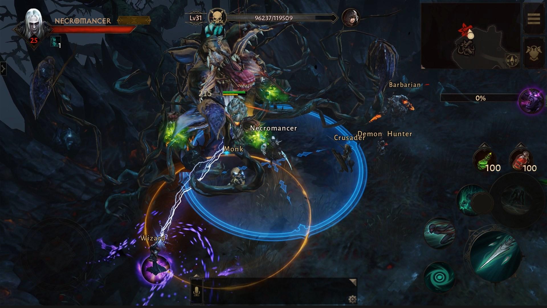 Альфа-тестирование Diablo Immortal официально стартовало! Новая информация от компании Blizzard