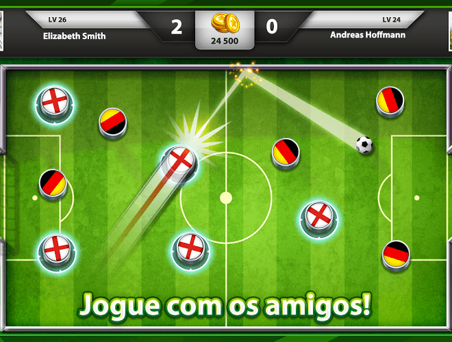 Jogue Soccer Stars on pc 2