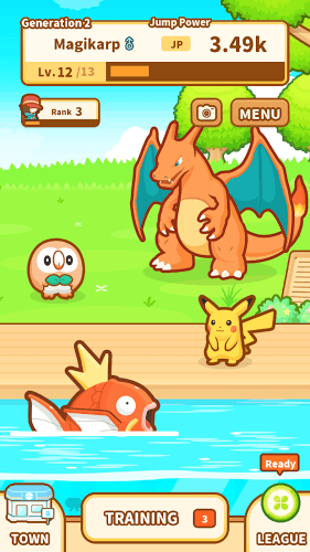 Play Pokémon: Magikarp Jump on pc 6