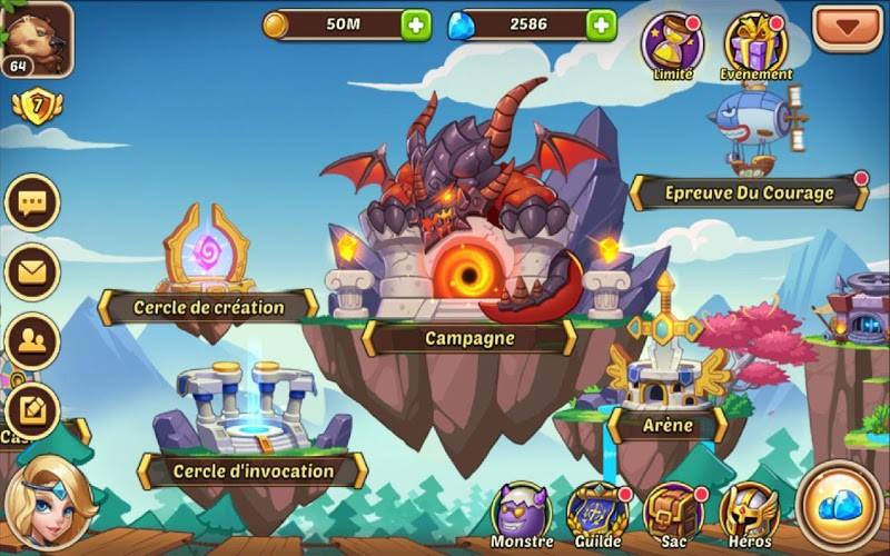 Jouez à  Idle Heroes sur PC 30