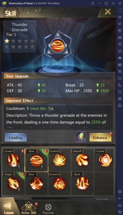 How to Increase Power Rating in Doomsday of Dead