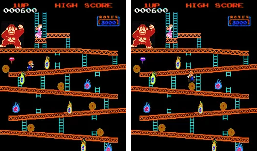 Play Monkey Kong classic arcade on PC 2