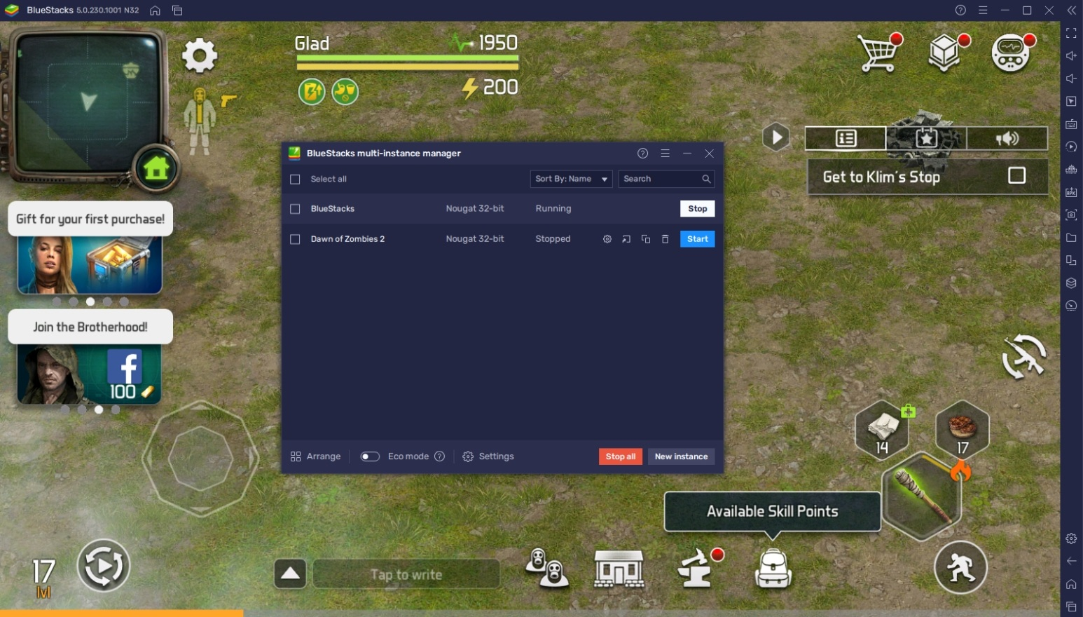 How to Play Dawn of Zombies on PC with BlueStacks