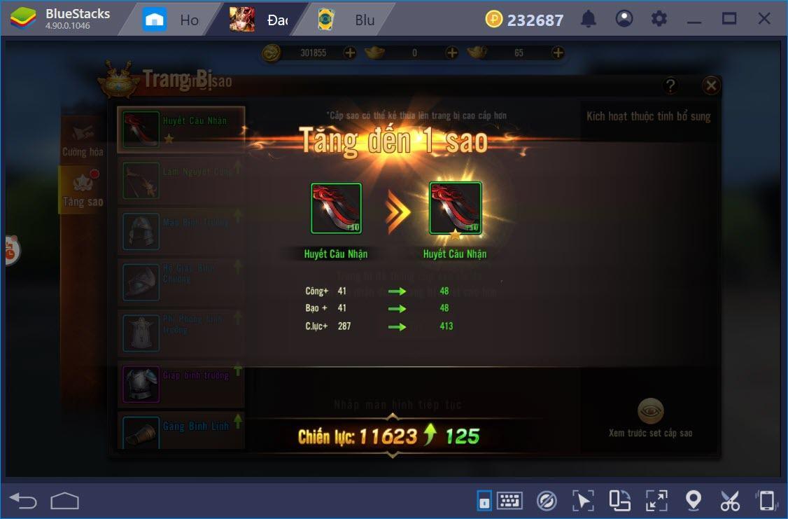 Đao Phong Giang Hồ: Hệ thống song thần binh, kỹ năng và nâng cấp