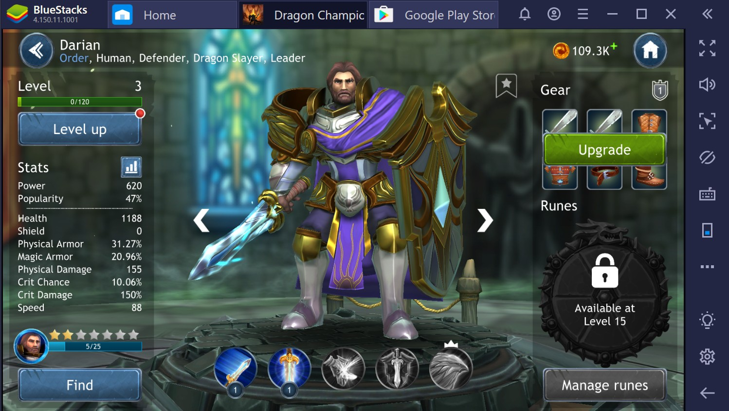 Dragon Champions: como evoluir os seus heróis no PC