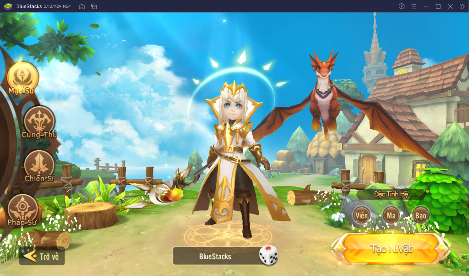 Dragon Heroes – Chung Sức Bảo Vệ: Tìm hiểu hệ thống class nhân vật