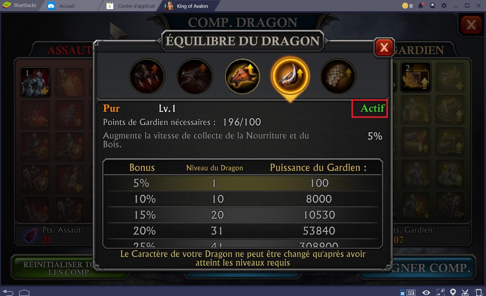 King of Avalon: Conquérir le monde grâce à votre Dragon