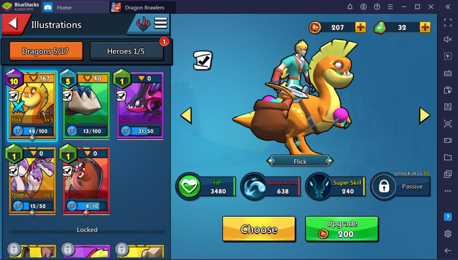 Обзорный гайд по игре Dragon Brawlers