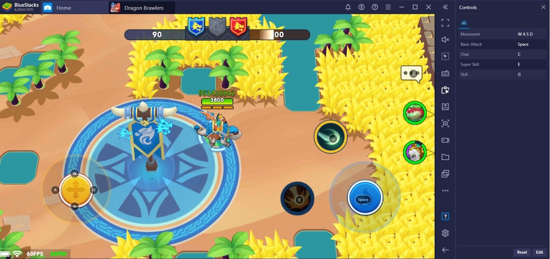 Руководство по настройке BlueStacks для Dragon Brawlers