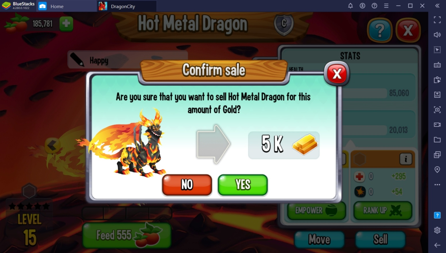 BlueStacks Guide to Farming Food and Gold in Dragon City