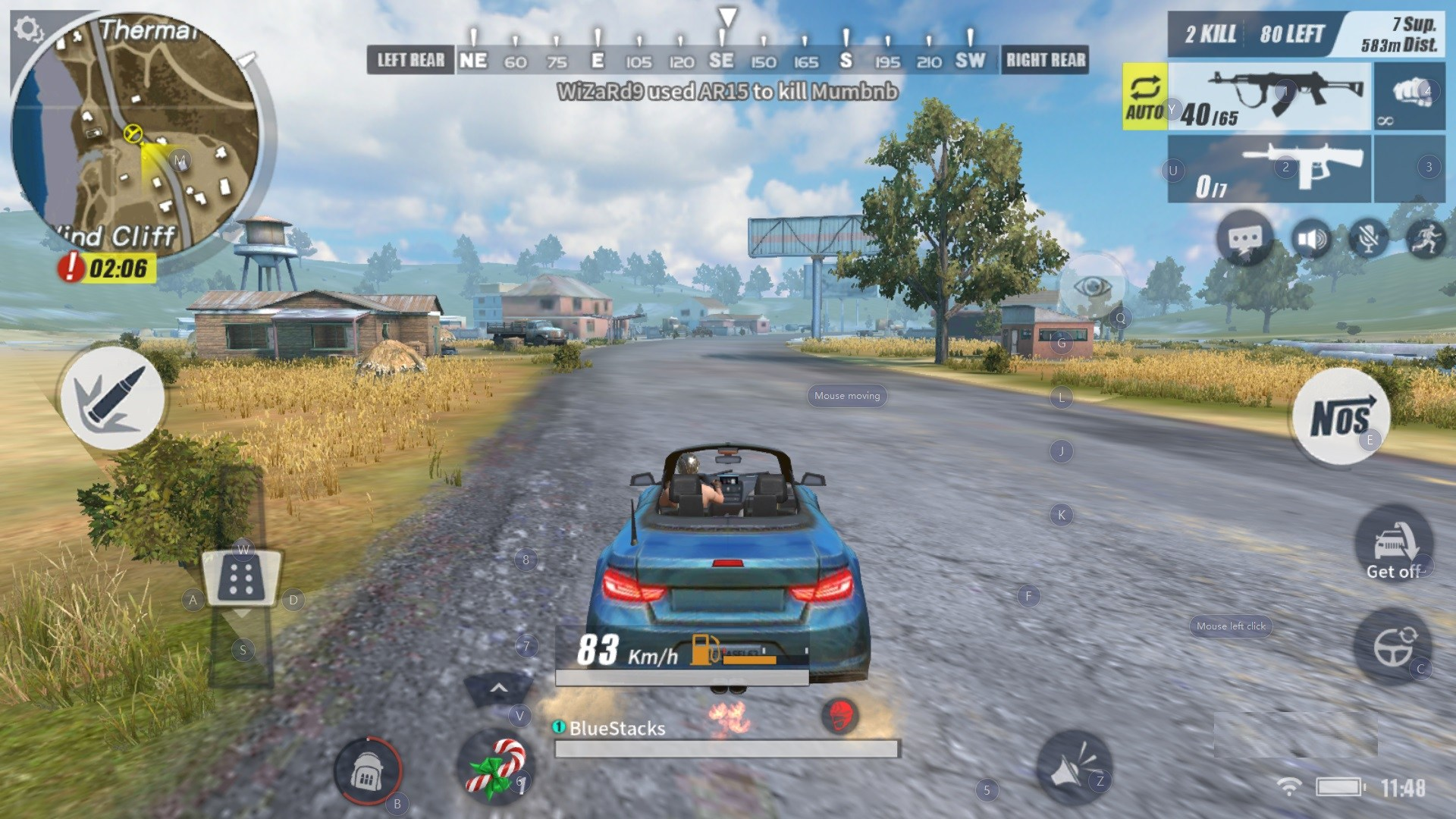 Rules of Survival Driving Vehicles