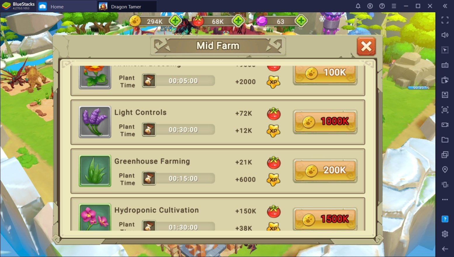 Dragon Tamer Early Resource Guide: Gold & Food