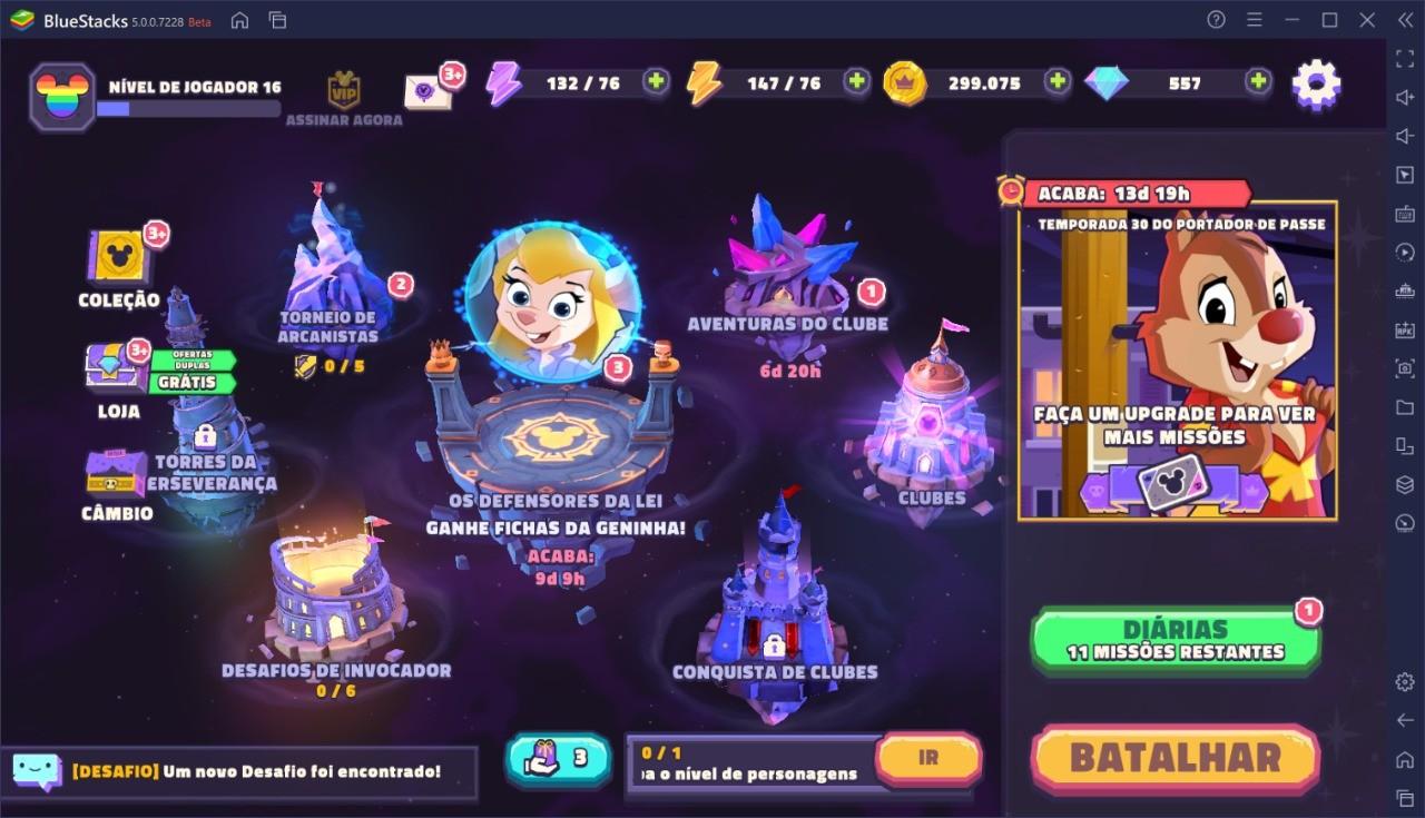 Disney Sorcerer's Arena: Entrando na Arena com Estilo