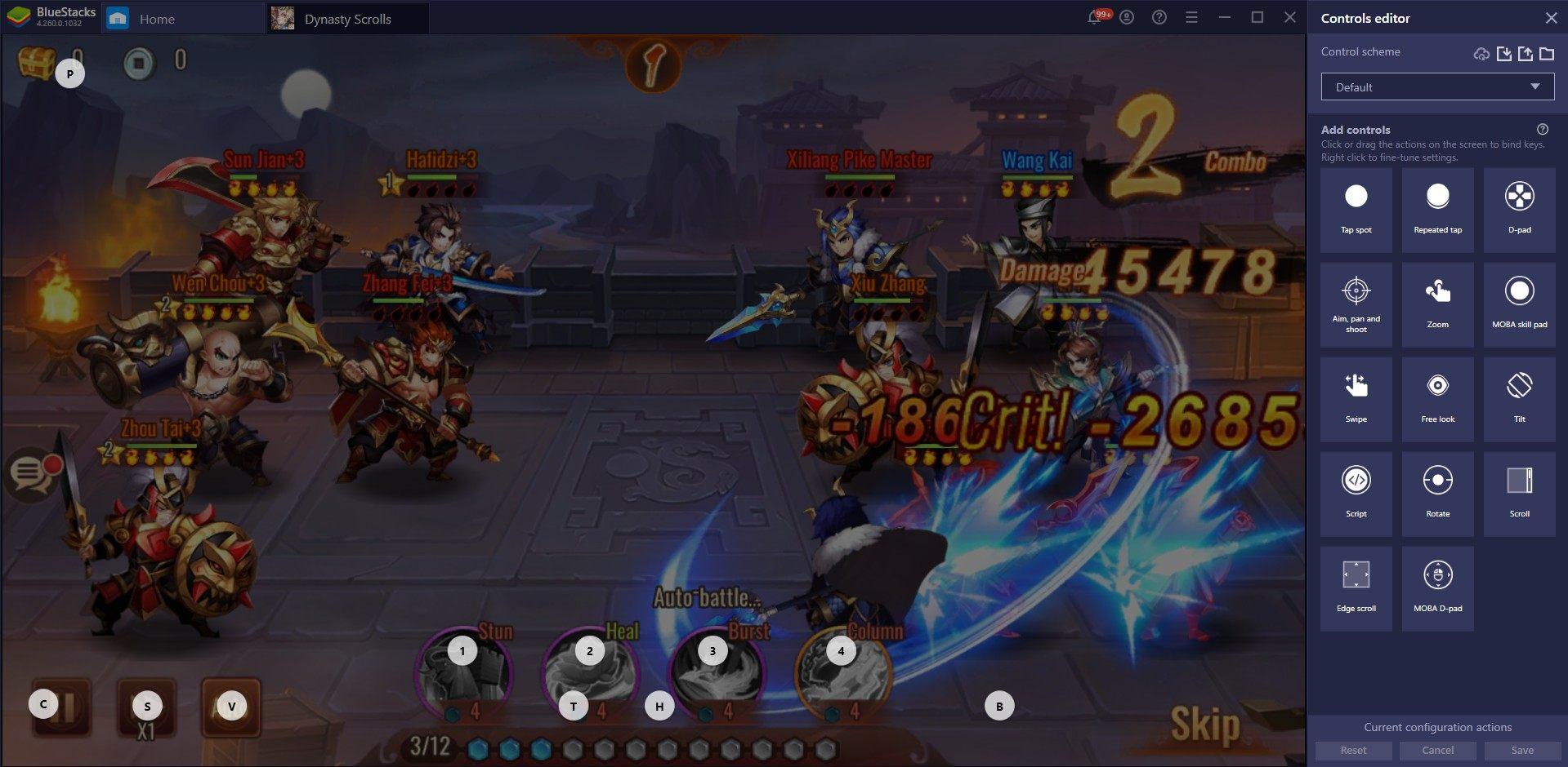 Cara Asyik Main Dynasty Scrolls di PC