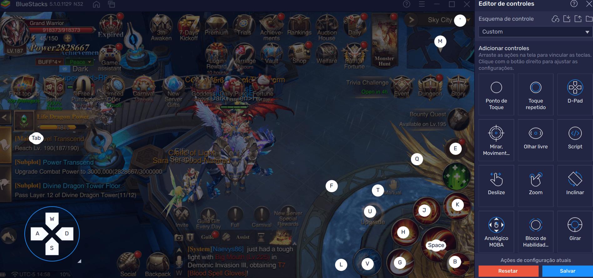Como e Por que Jogar Dragon Storm Fantasy no PC com BlueStacks