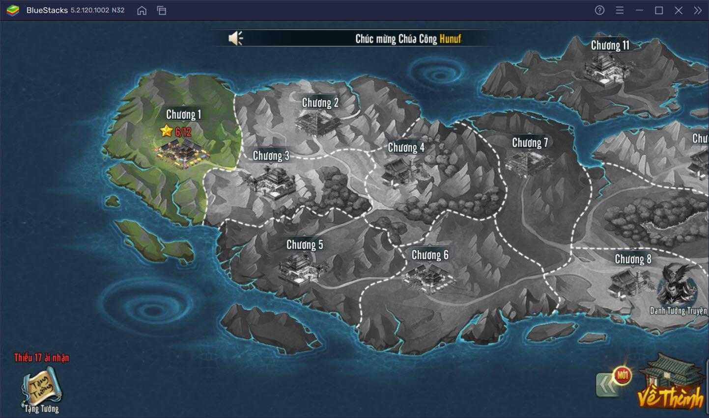 Gầy dựng giấc mộng bá chủ Đế Vương Tam Quốc trên PC cùng BlueStacks