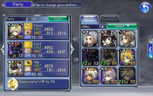 เล่น Dissidia Final Fantasy Opera Omnia on PC 15