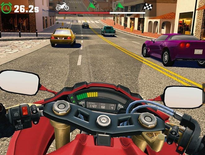 Play Moto Rider GO: Highway Traffic on PC 7