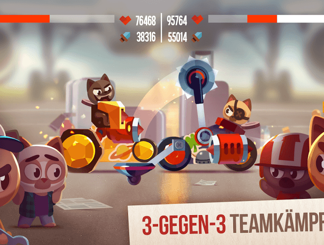 Spiele CATS: Crash Arena Turbo Stars auf PC 5
