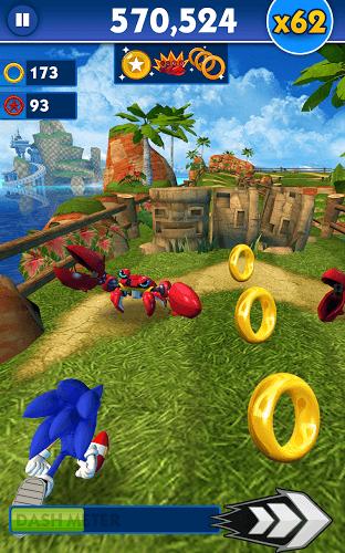 Spiele Sonic Dash auf PC 14