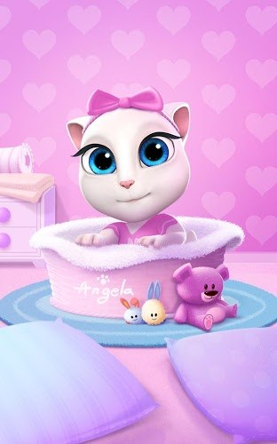 Играй Talking Angela on pc 7
