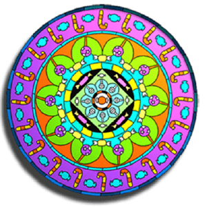 Play Mandala Coloring Pages on pc 1
