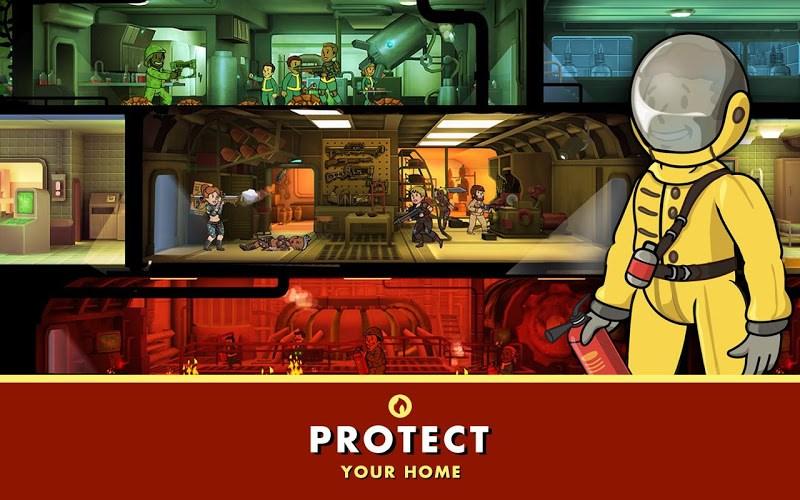 fallout shelter уменьшение графики